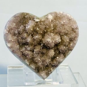 Herz, Handschmeichler, Bergkristall, Brasilien