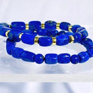 Lapis Lazuli, Trommelsteine