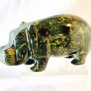 Nilpferd, Hippo, Steinfigur