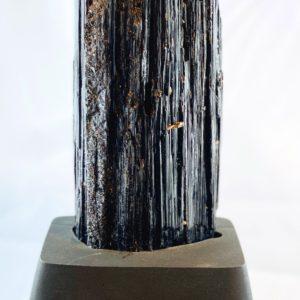 Schörl, Schwarzer Turmalin, Schutzstein, Kristall, Namibia