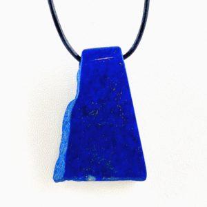 gebohrter Stein, Lapis Lazuli, Afghanistan