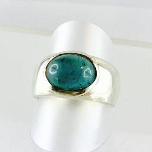Indigolith, blauer Turmalin Ring