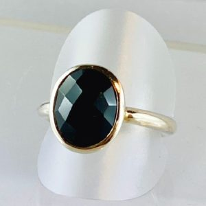 Spinell, Ring Silber