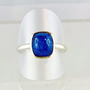 Tansanit, Ring Silber Unikat