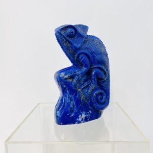 Chameleon, sehr feiner Lapis Lazuli, 499,--€ Einzelstück